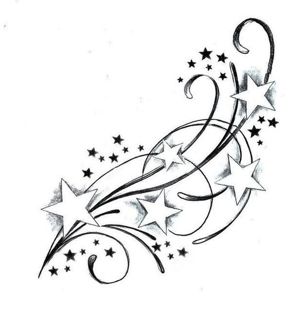 \'s Of Star Tattoo Design Ideas Picture Gallery