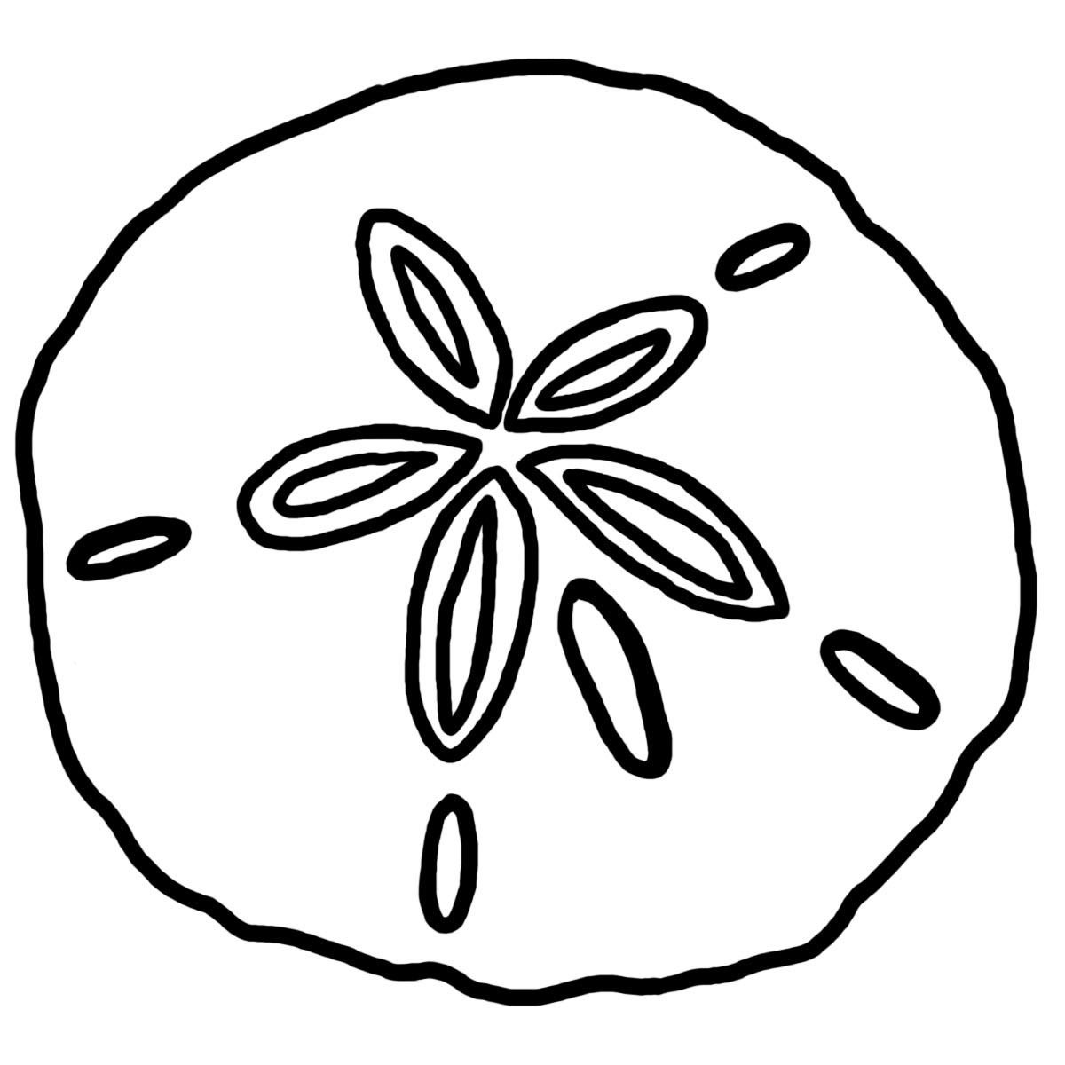 Best Sand Dollar Clip Art 8000 Clipartioncom