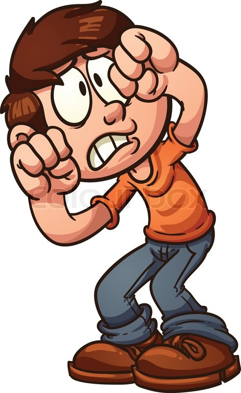 Best Scared Clipart #20221 - Clipartion.com