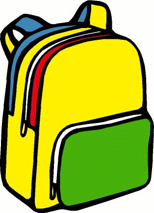 School Backpack Clipart Free Clipart Images