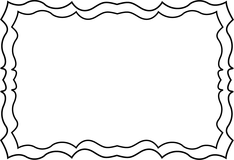 School Border Clipart Black And White Free