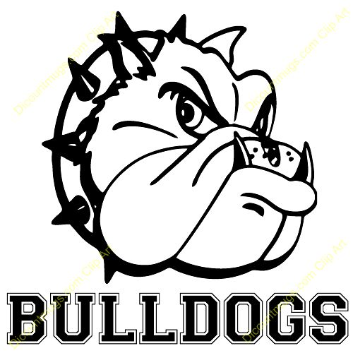 School Bulldog Clipart Free Photo Happy Dog Heaven