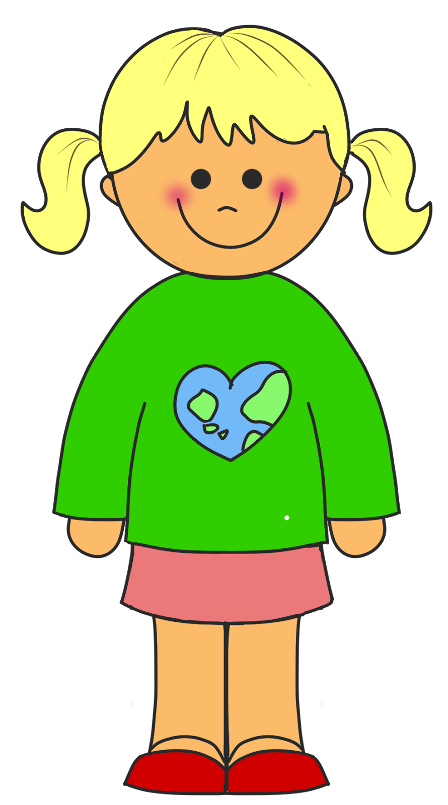 School Girl Clipart Free Clip Art Images