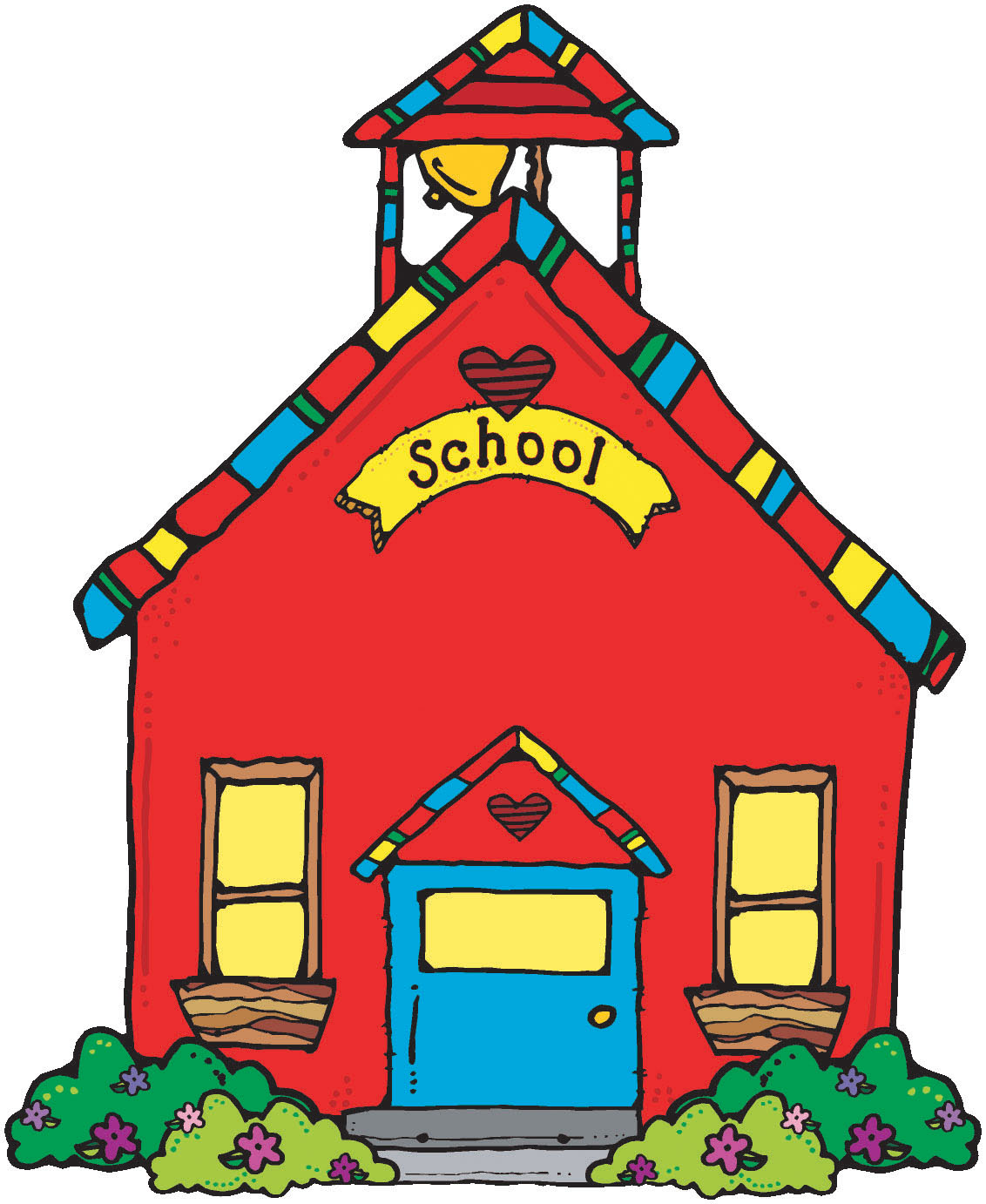 Best School House Clip Art #11310 - Clipartion.com