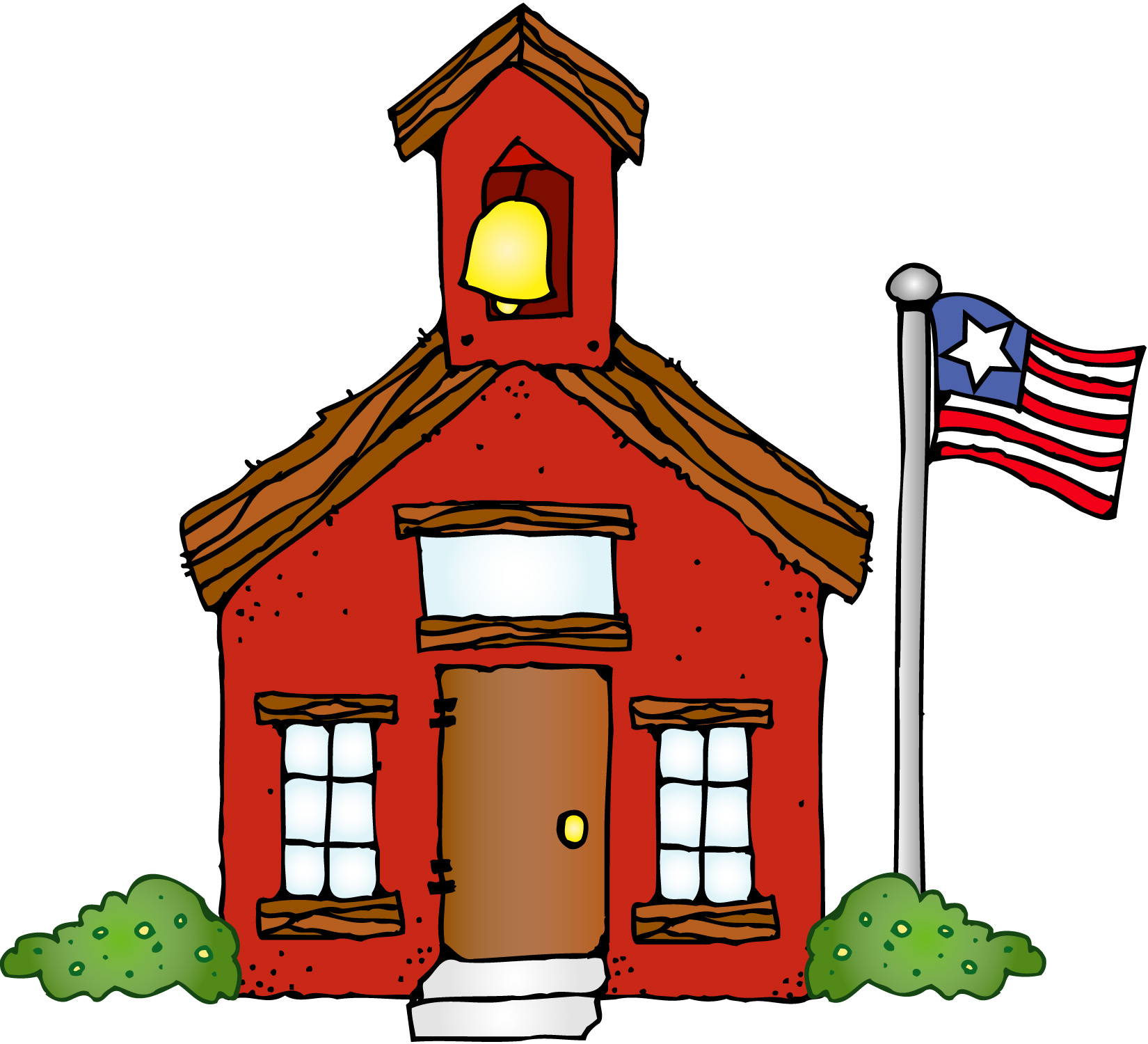 Best School House Clip Art #11311 - Clipartion.com