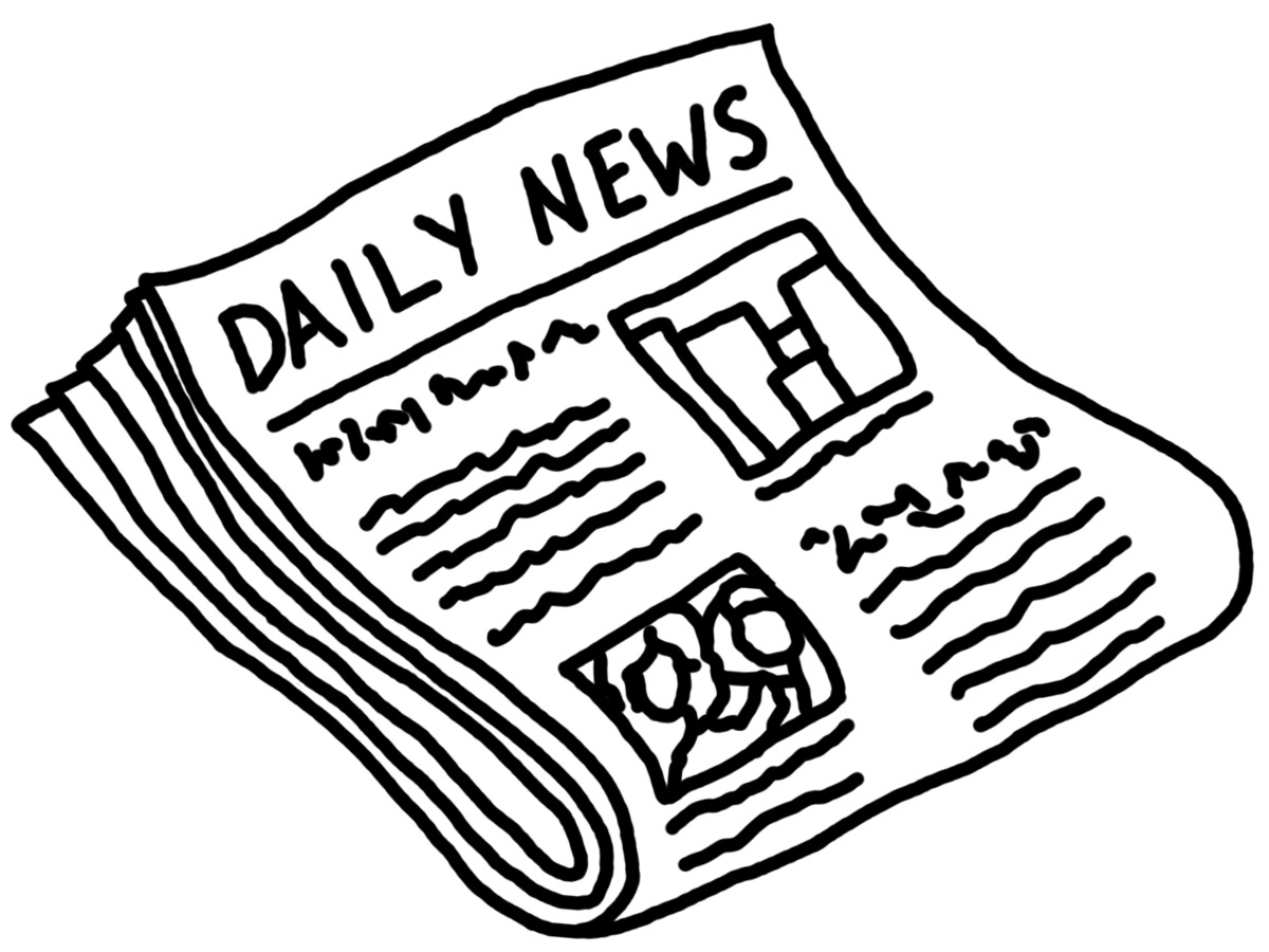 Line Drawing Newspaper : Best newspaper clipart clipartion