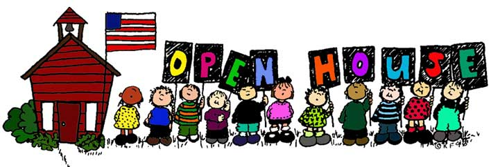 Image result for school open house clip art