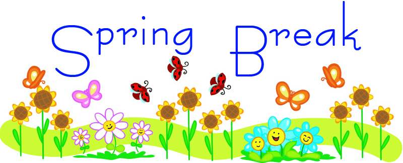 School Spring Break Clip Art 8