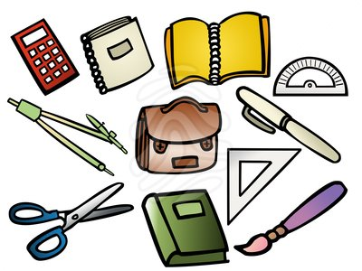 School Supplies Clip Art Clipart Free Clipart