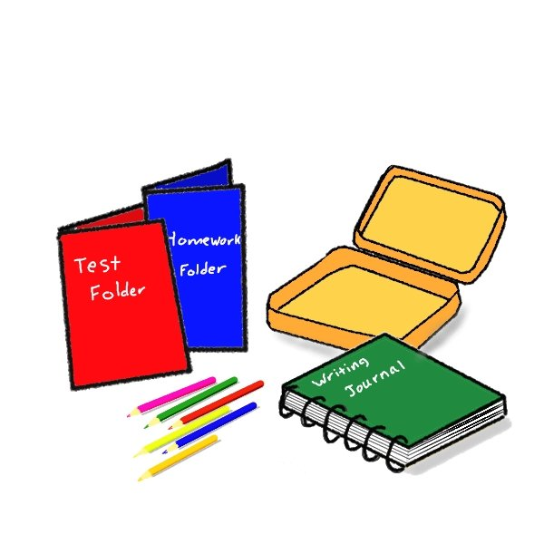 School Supplies Clipart For Kids Free Clipart Images