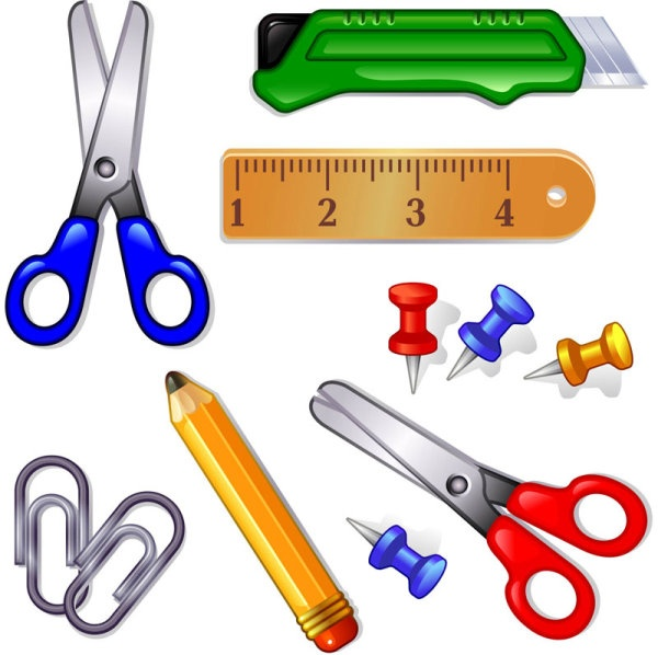 School Supplies Esl Worksheet Clipart Pinterest School