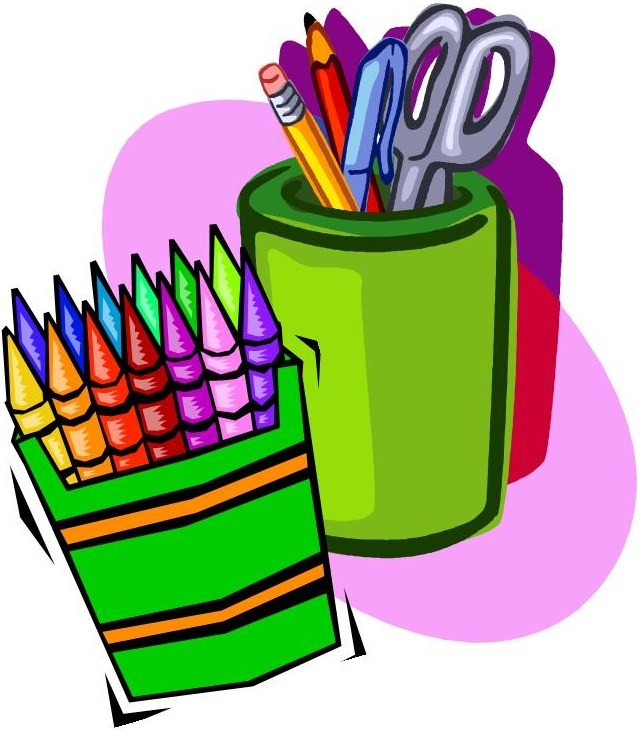 School Supplies List Free Clipart Images