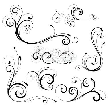 Scroll Applique Patterns Printable Traceable Scroll Saw Patterns