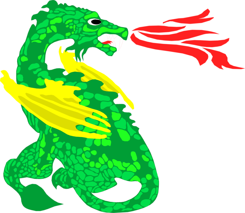 Sea Dragon Serpent Clipart