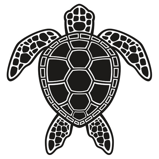 Sea Turtle Black And White Clipart Free Clip Art Images