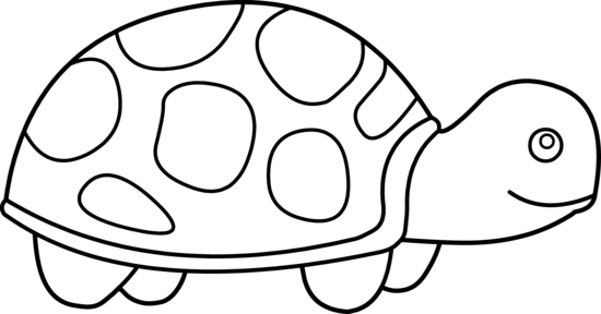 Sea Turtle Clip Art Black And White Free Clipart