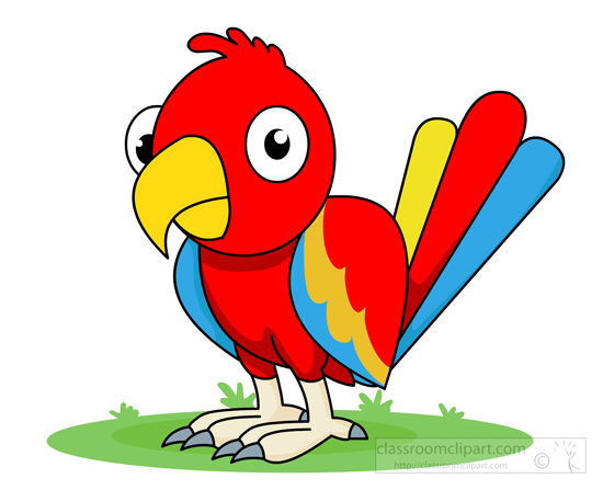 parrot clipart clipartion com Colorful Parrot Clip Art Cute Parrot Clip Art