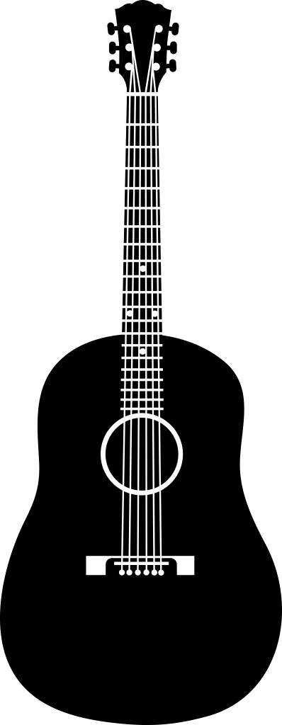 Share Acoustic Guitar 2 With You Friends Clipart Free Clip Art