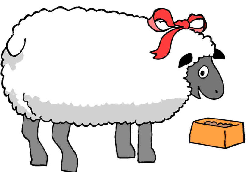 Sheep Clipart Black And White Free Clipart Images