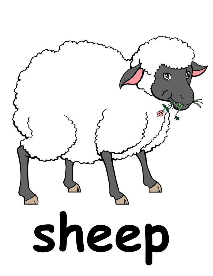 Sheep Head Clipart Black And White Free Clipart