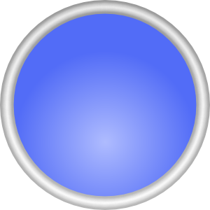 Shiny Blue Circle Clip Art Free Vector 4vector