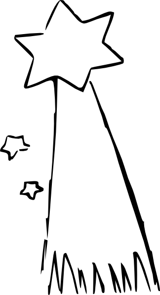 Shooting Star Cartoon Clip Art At Vector Clip Art