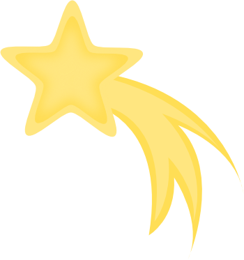 Shooting Star Clipart Free Clip Art Images
