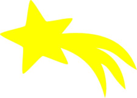 Shooting Star Star Template Shooting Stars And Shooting