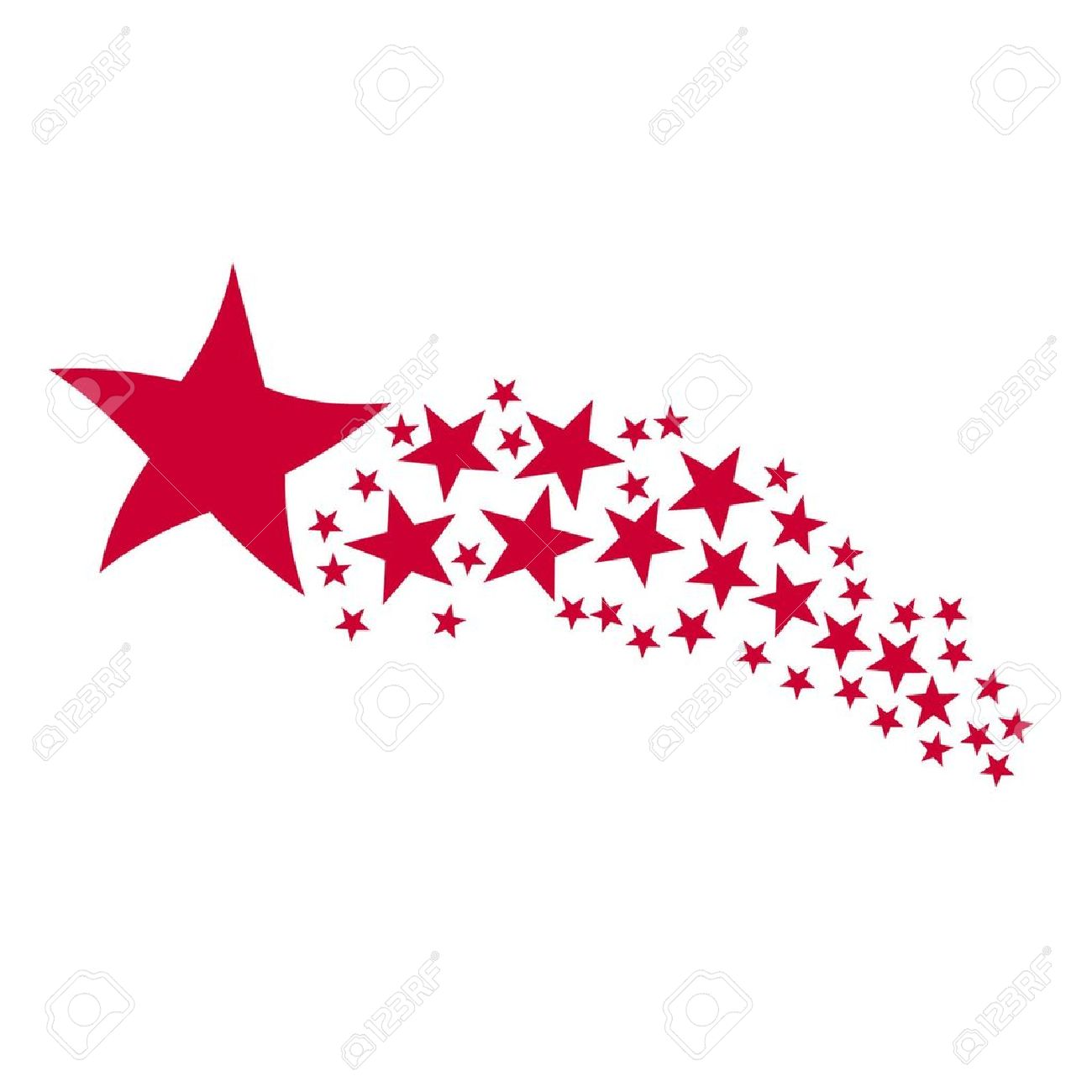 Shooting Star Stock Vector Illustration And Royalty Free Shooting