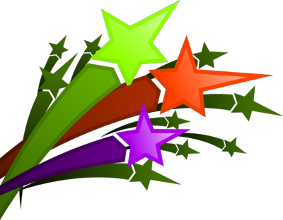 Shooting Stars Clipart 2 Png