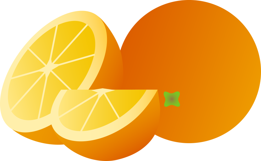 Simple Orange Fruit Clipart Free Clip Art Images