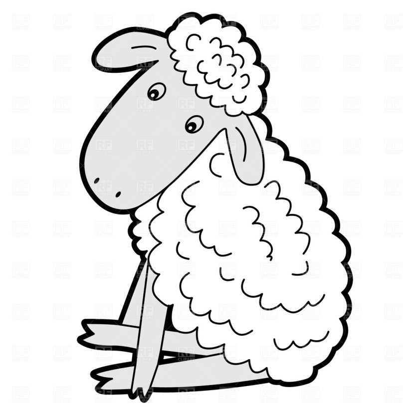 Sitting Lamb Download Free Clipart Images