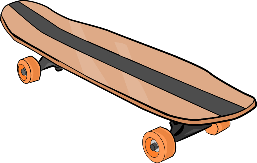 Best Skateboard Clipart #16908 - Clipartion.com