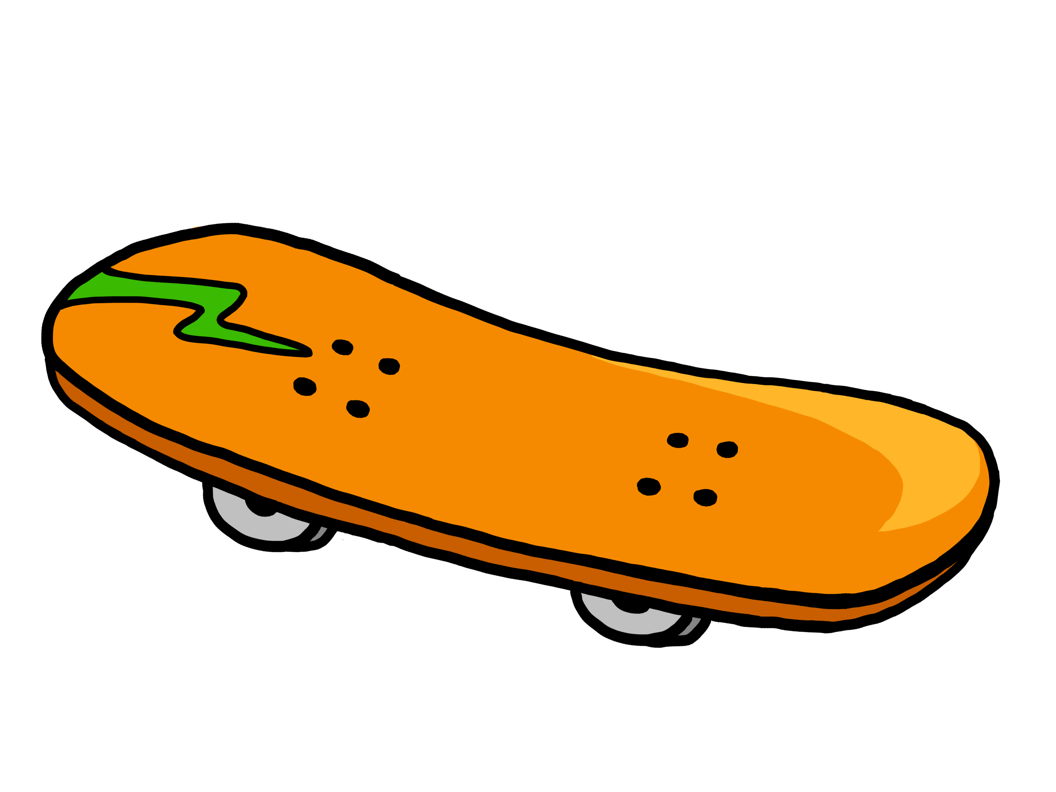 Skateboard Clipart Free Clipart Images