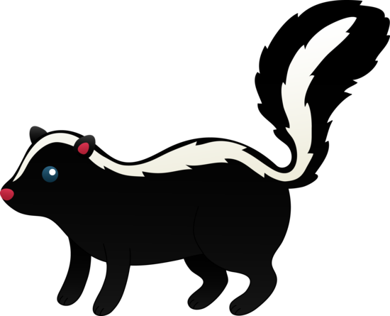 Best Skunk Clipart #13863 - Clipartion.com