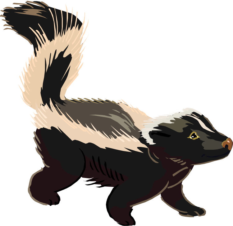 Skunk Clipart Free Free Clipart Images