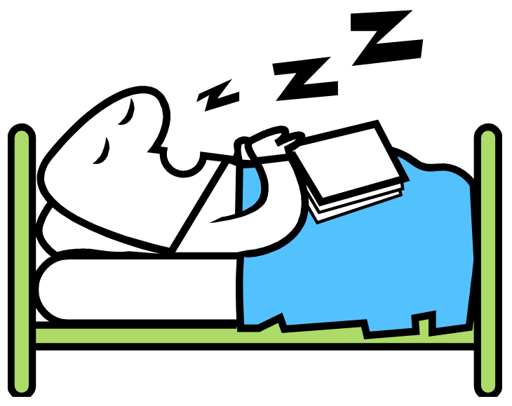 Sleeping Zzzz Clipart