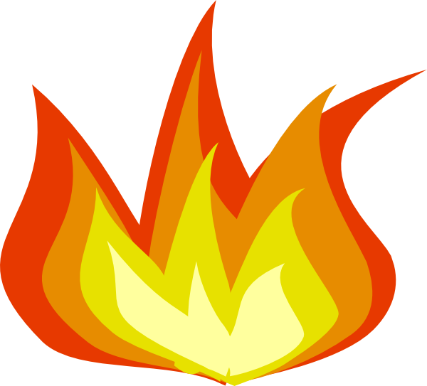 Small Fire Clipart