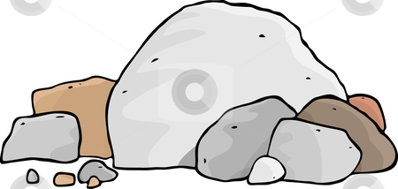 Rock Clipart - Clipart... Rock Clipart Black And White