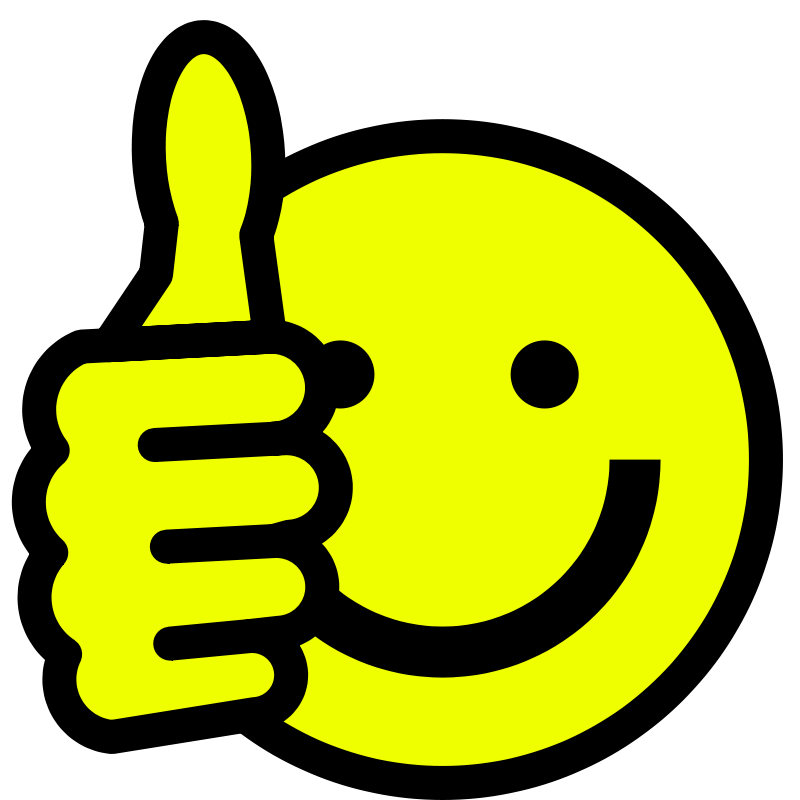 Smiley Face Clip Art Thumbs Up Free