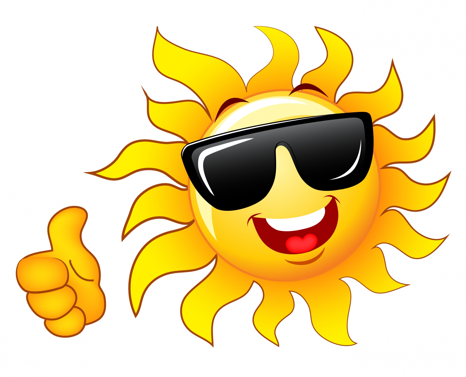 Smiley With Sunglasses Stock Vectorclipart Free Clip Art Images