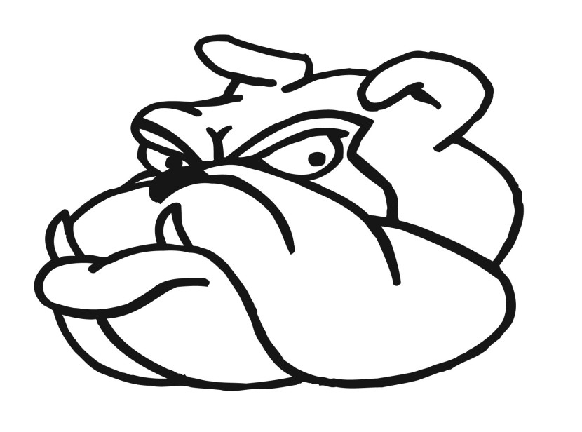 Smiling Bulldog Clipart Free Clipart Images