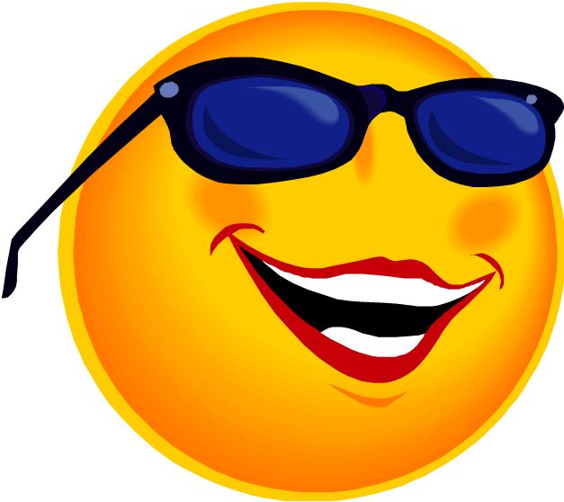 Smiling Sun With Sunglasses Free Clipart Images