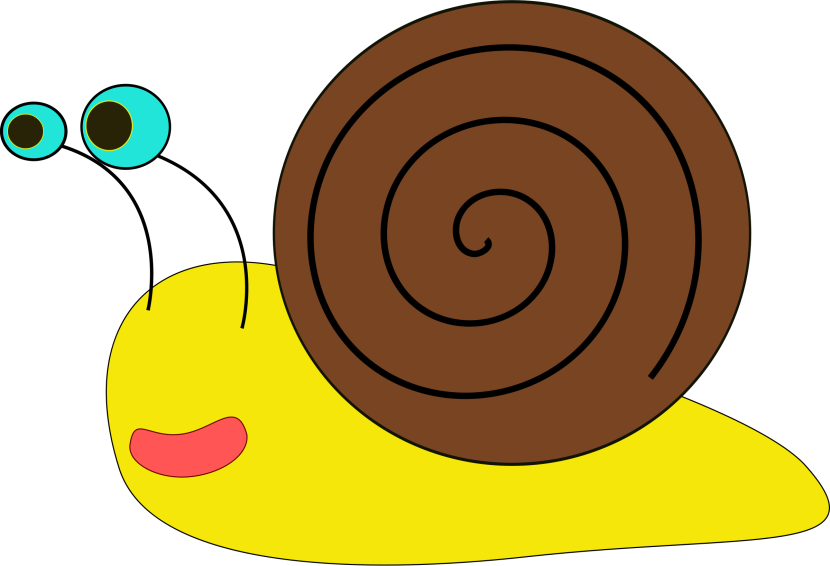 Snail Clipart Black And White Free Clipart Images