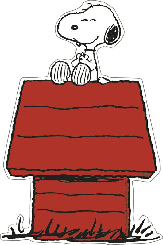 Snoopy On Dog House Clipart Free Clip Art Images