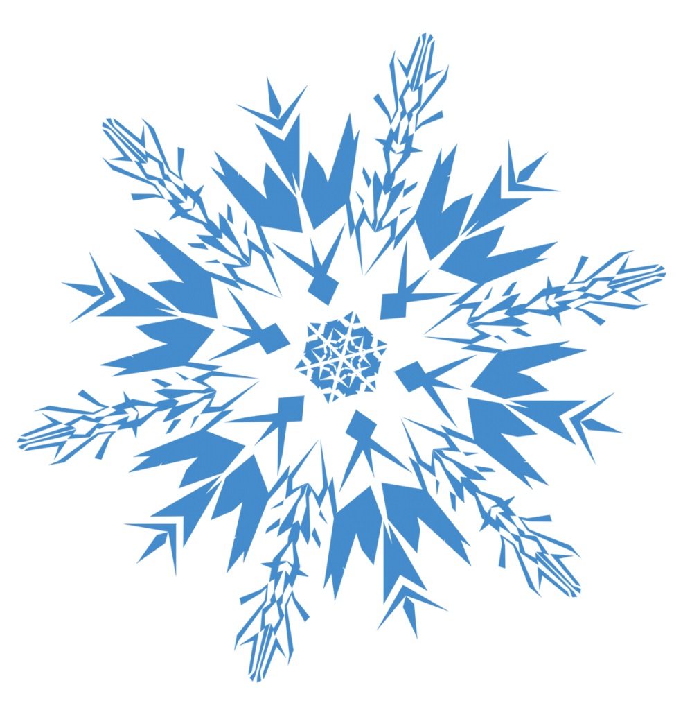 Snowflake png clipartion
