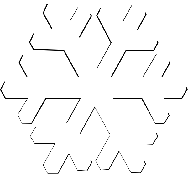 Snowflakes Png6 Png