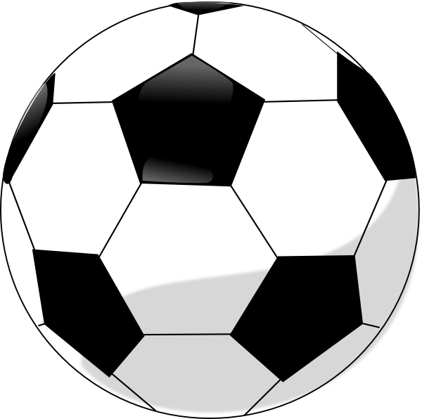 Soccer Ball Clip Art Item Vector Magz Free Download