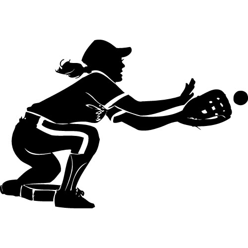 Softball Clipart Vector Magz Free Download Vector Graphics