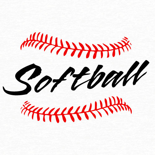 Softball Laces Clip Art Download Vector